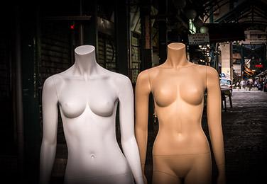 Female Headless Mannequins
